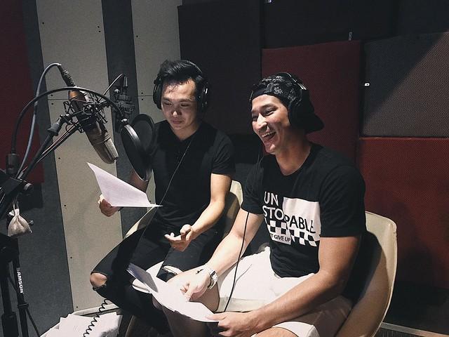 Huy Khánh thu âm tại Phòng Thu Âm Tp Hcm